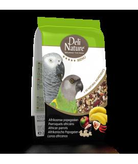 Deli Nature African parrots...