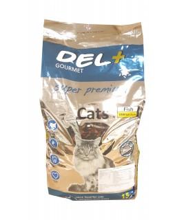 Del+ Gourmet Cats - sausas...