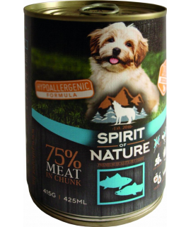 Spirit of nature dog salmon...